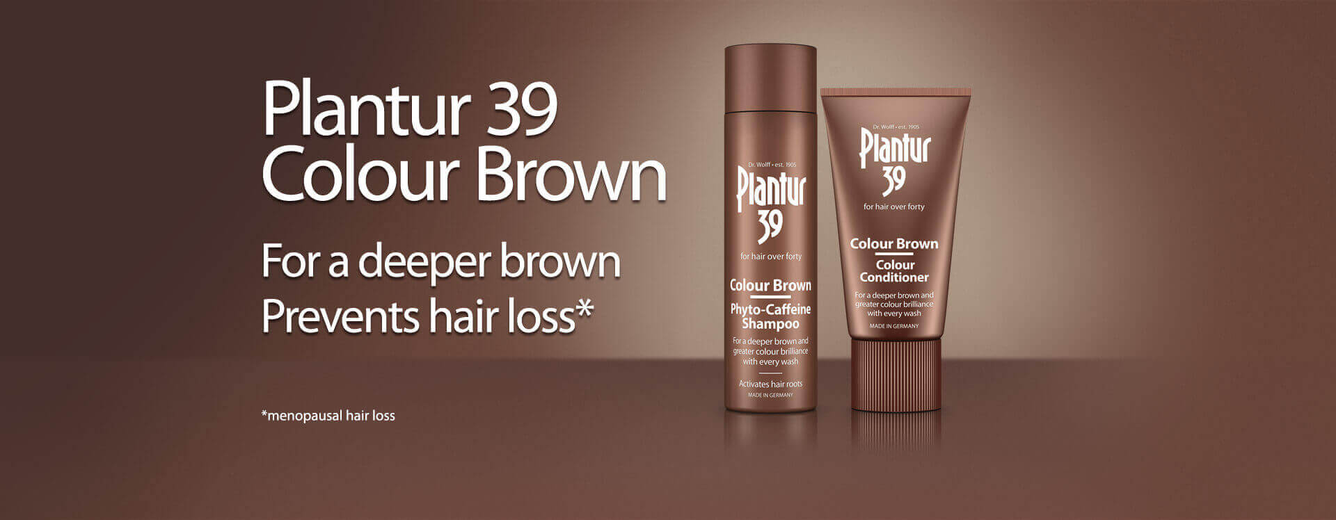 Plantur 39 Colour Brown for a deeper brown